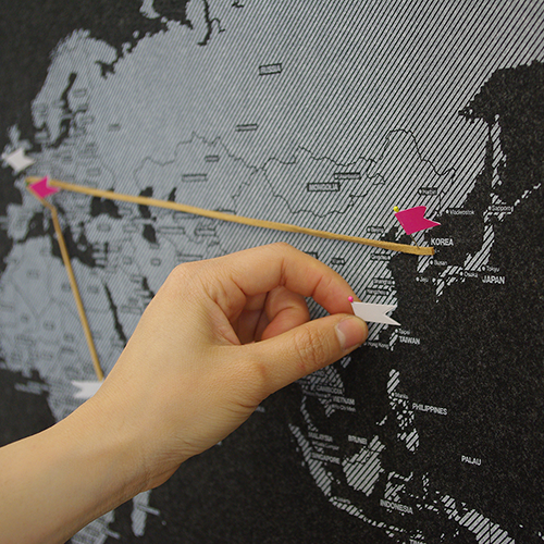 Around the World_ver. Pin Map