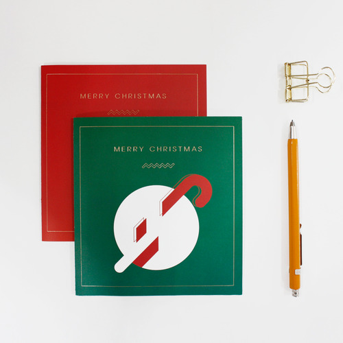 MERRY CHRISTMAS CARD_GREEN
